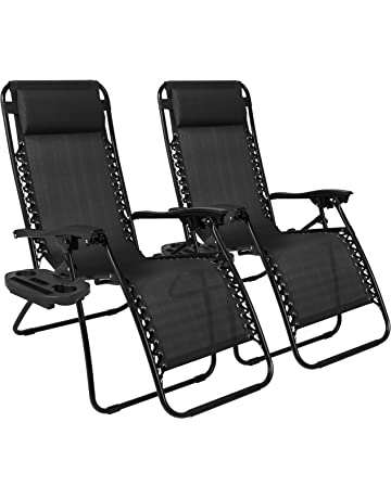 5e8f3b484a6 Best Choice Products Set of 2 Adjustable Zero Gravity Lounge Chair  Recliners for Patio