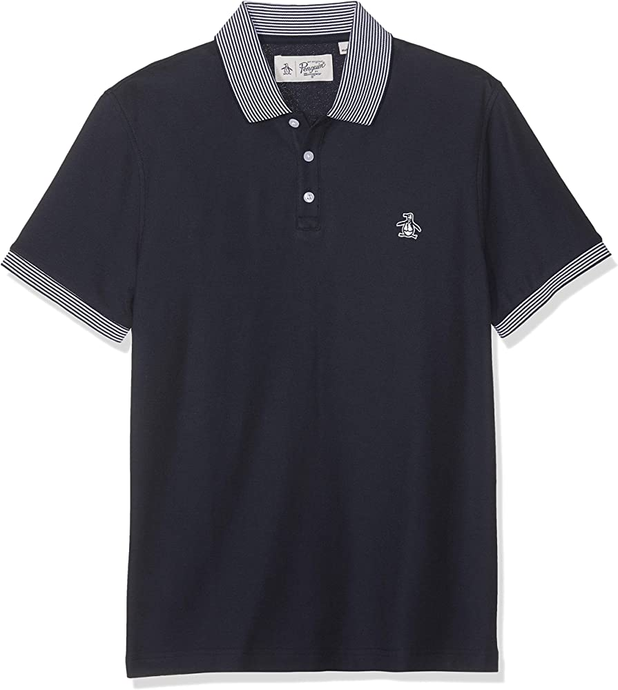 Original Penguin Stars and Stripes Polo, Azul (Dark Sapphire), XS ...
