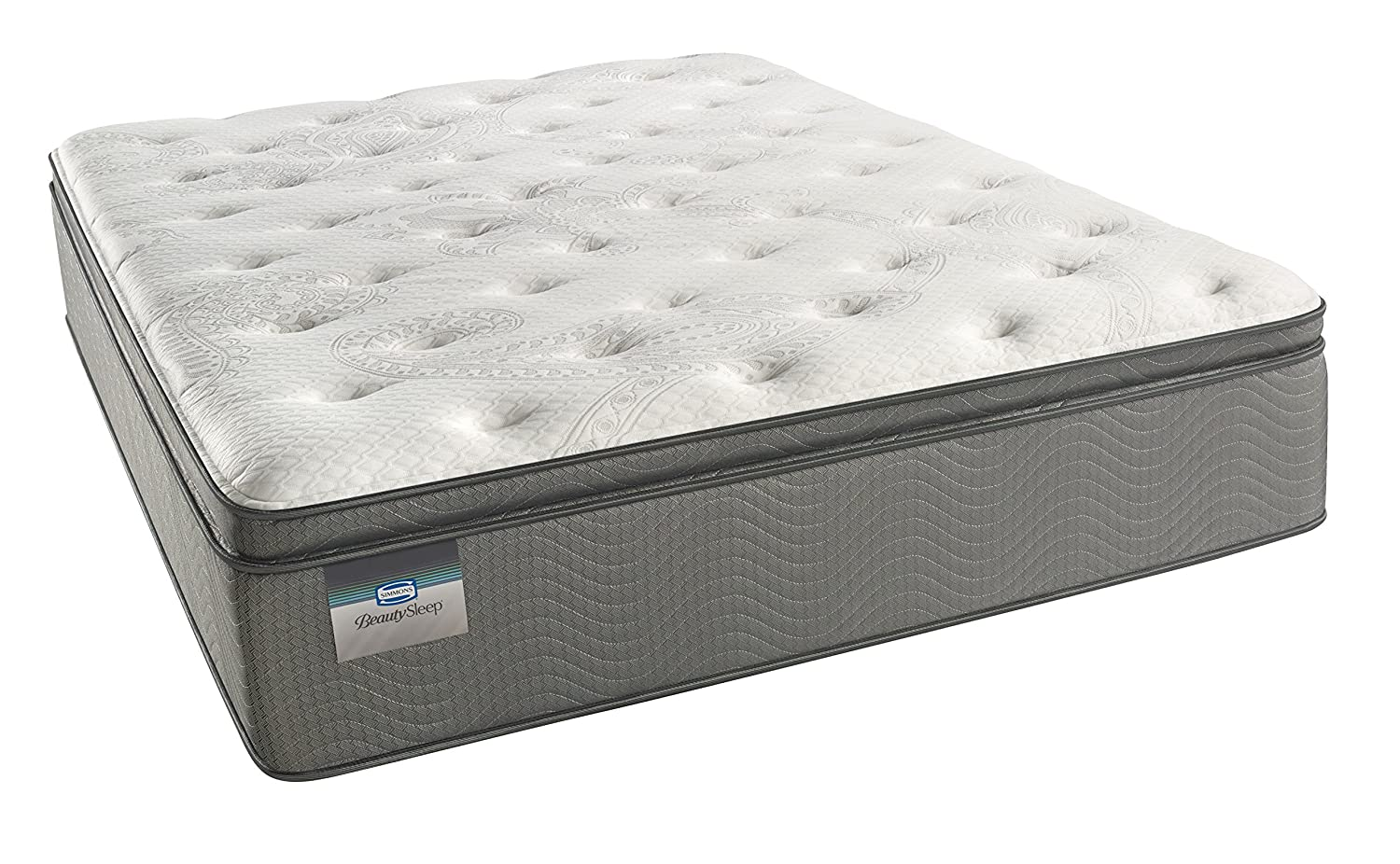 Simmons Beautysleep Plush Pillow Top 450 Queen