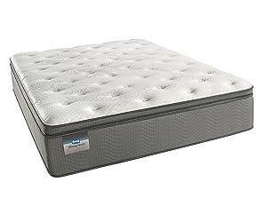 Simmons BeautySleep Plush Pillow Top 450, Queen Innerspring Mattress
