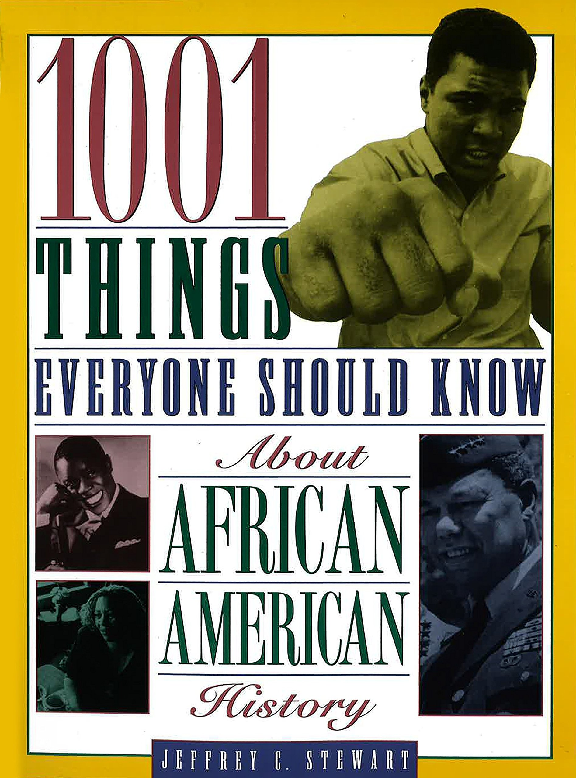 1001 Things Everyone Should Know About African American History: Jeffrey C.  Stewart: 9780385485760: Amazon.com: Books