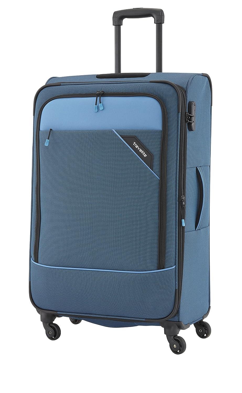 Travelite Derby 4-Rad Trolley S, Anthrazit, 87547-04 Hand Luggage, 55 cm, 41 liters, Grey (Anthrazit)