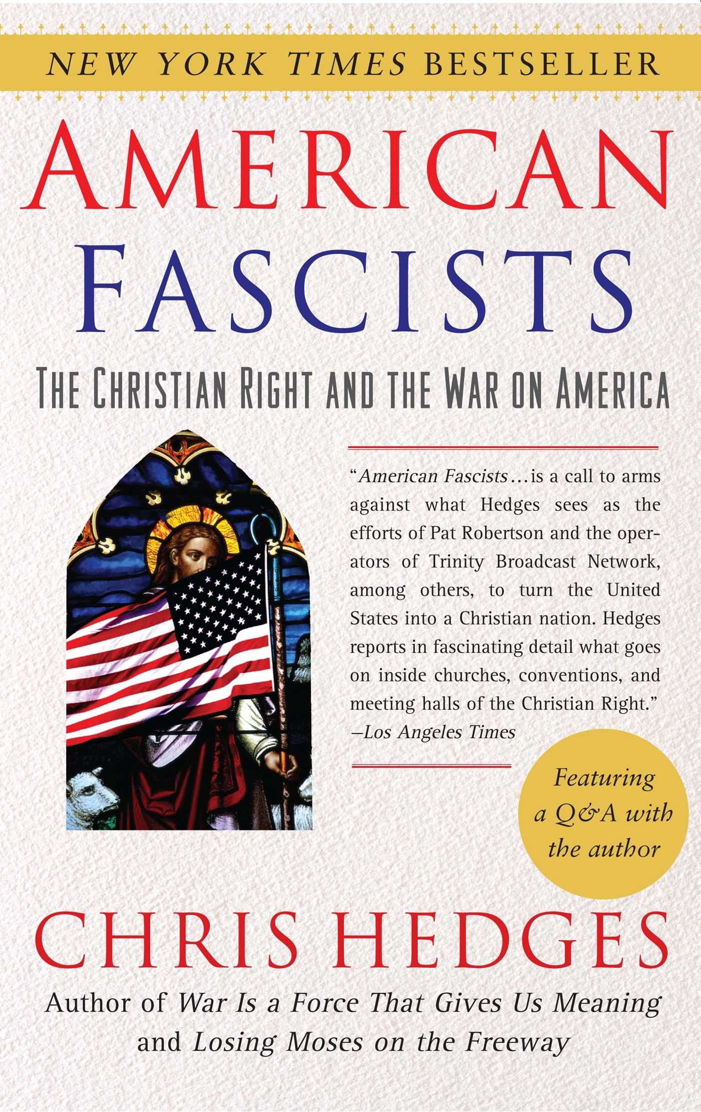 amazoncom american fascists the christian right and the war on america 9780743284462 chris hedges books - 57 Unique Wedding Vows Examples Impression