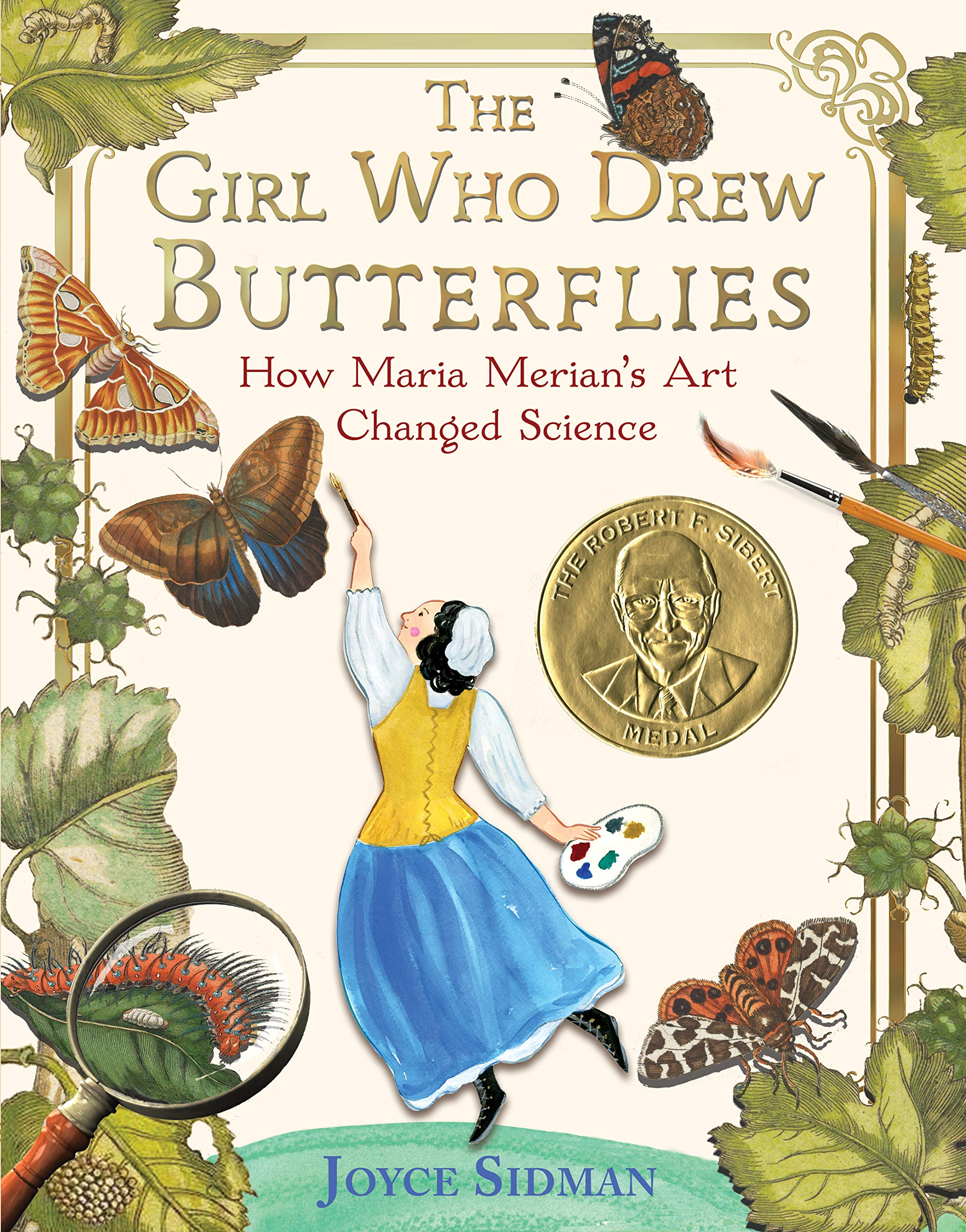 Image result for the girl who drew butterflies by joyce sidman