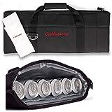 Caddyswag Par 6 Pack Golf Bag Cooler With Flexible Reusable Freezer Gel Pack