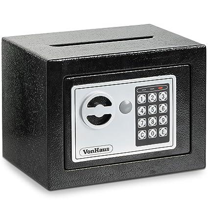 vonhaus solid steel safe small 6 3lbs compact electronic digital rh amazon com Stack On Gun Safes secure vault handgun safe manual