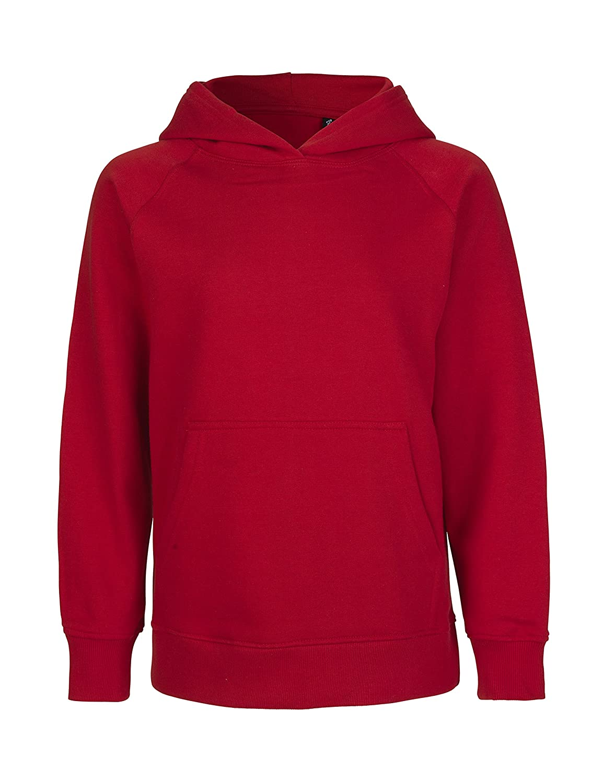 -Green Cat- Kinder Kinder Kapuzensweatshirt, 100% Bio-Baumwolle. Fairtrade, Oeko-Tex und Ecolabel Zertifiziert