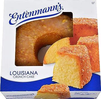 Louisiana Lemon Crunch Creme Cake Recipe
