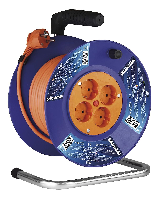 3 x schuko-dG dB04 1000144.30; hJR Les eMOS kabeltro lMER 4 Voies m/âle 20 m 4ZR 4AC embases pour Collier de Serrage