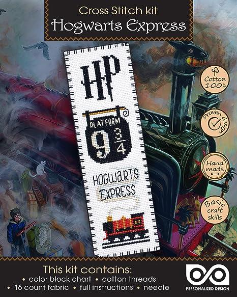 Kit De Broderie Au Point De Croix Hogwarts Express Platform 9 King S Cross Station Amazon Ca Maison Et Cuisine