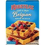 Krusteaz Light & Crispy Belgian Waffle Mix - No Artificial Flavors, Colors, or Preservatives - 28 OZ (Pack of 3)