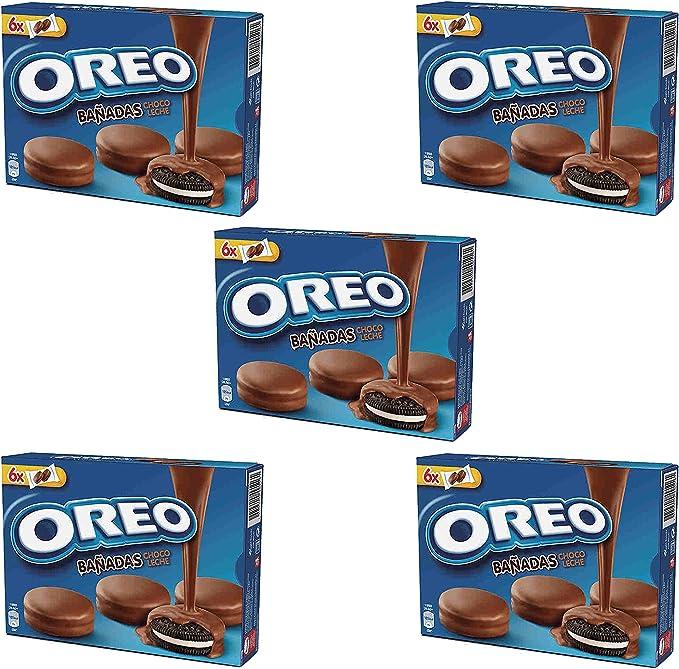 Oreo bañadas chocolate con leche 246 gr. - [Pack de 5]: Amazon.es ...