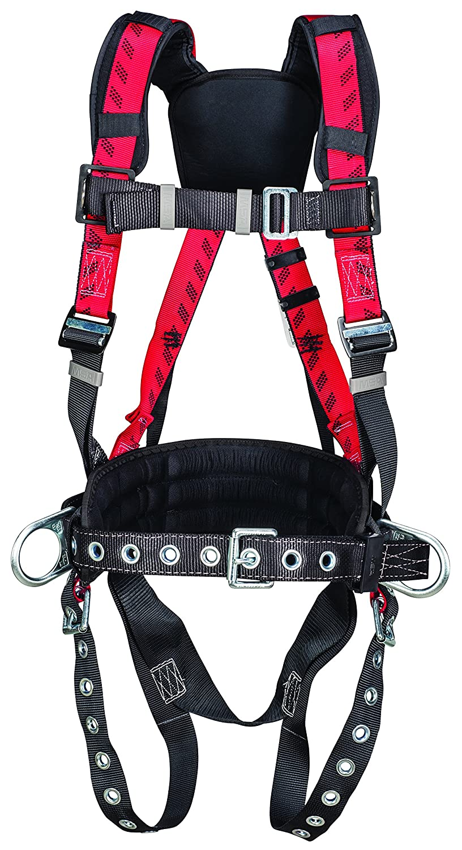 MSA Safety 10057211 technacurv construcción arnés, lengua pierna ...
