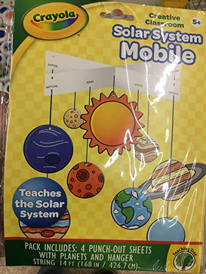 Amazon com: Crayola Solar System Mobile: Toys & Games