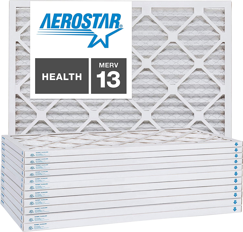 MERV 13 20x20x1 AC and Furnace Air Filter by Aerostar Box of 1