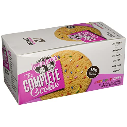 Lenny Larrys The Complete Cookie Birthday Cake 16g Plant Protein Vegan