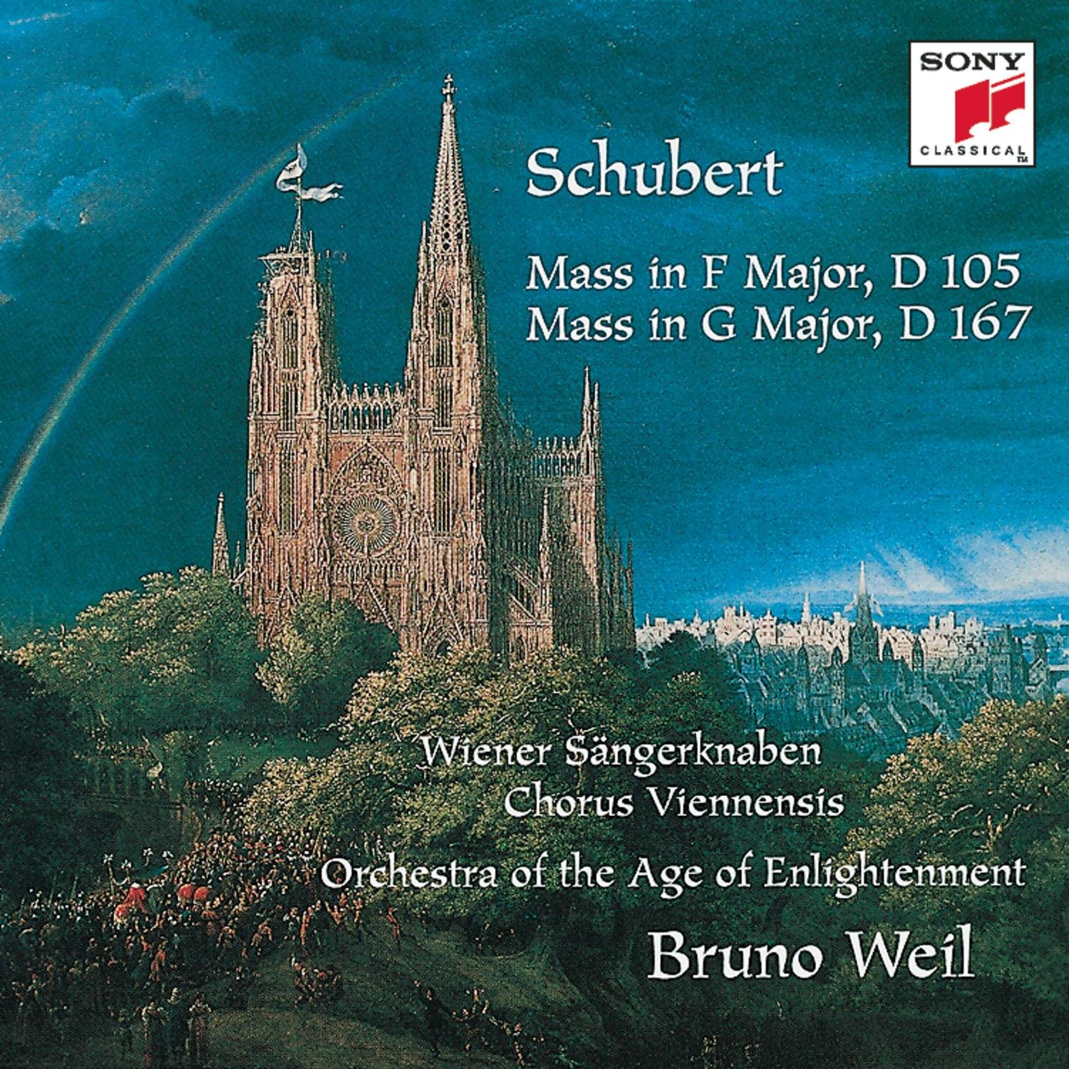 Special price for a limited time Schubert: Mass in F Major D167 D105 G Don't miss the campaign