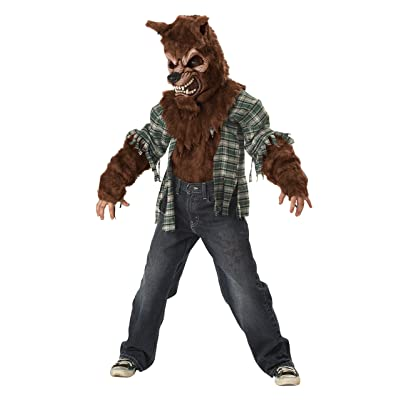 California Costumes Howling At The Moon Child Costume, Large: Toys & Games