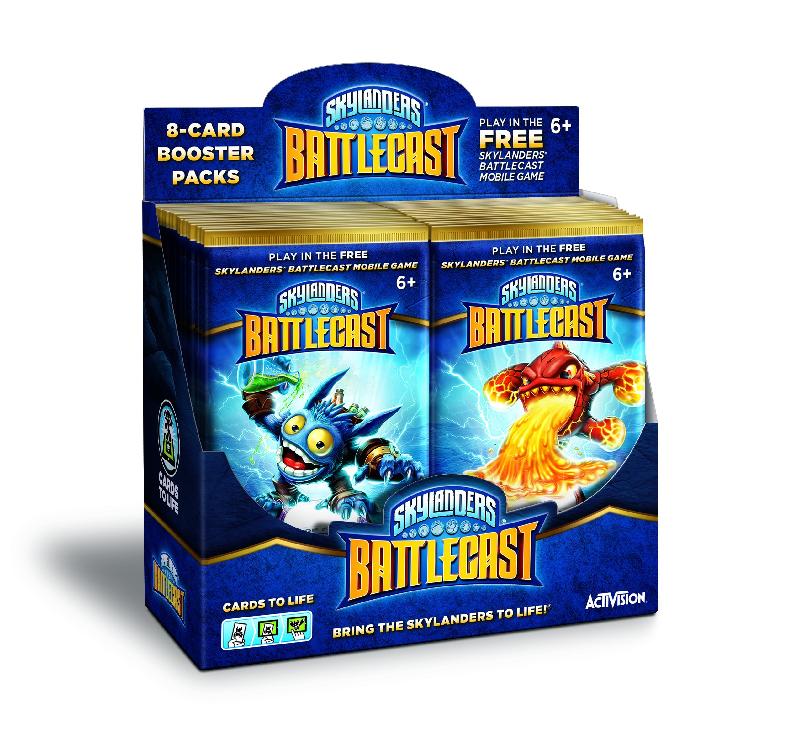 Skylanders Battlecast Booster Master Box (36 Booster Packs) - Android and iOS by Activision (Image #8)