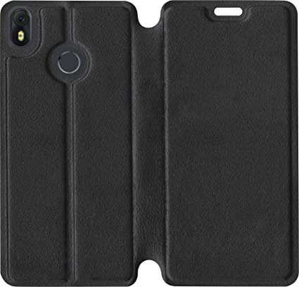 best service c421f 45e25 SBMS Flip Cover for Infinix Hot S3 (Black)