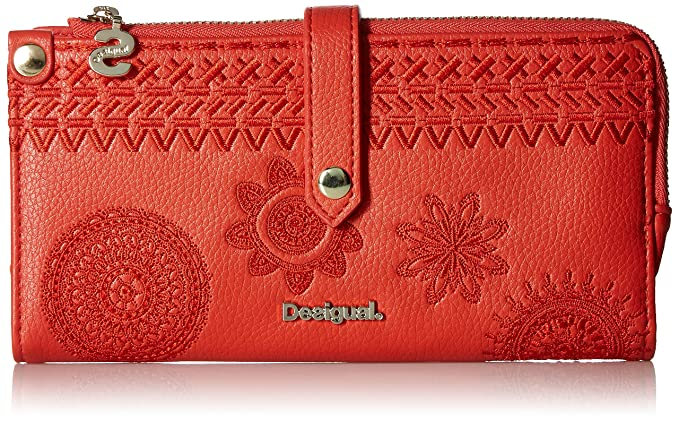 Amazon.com: Desigual Mone_Dark Amber Ester 3, Carmin: Clothing