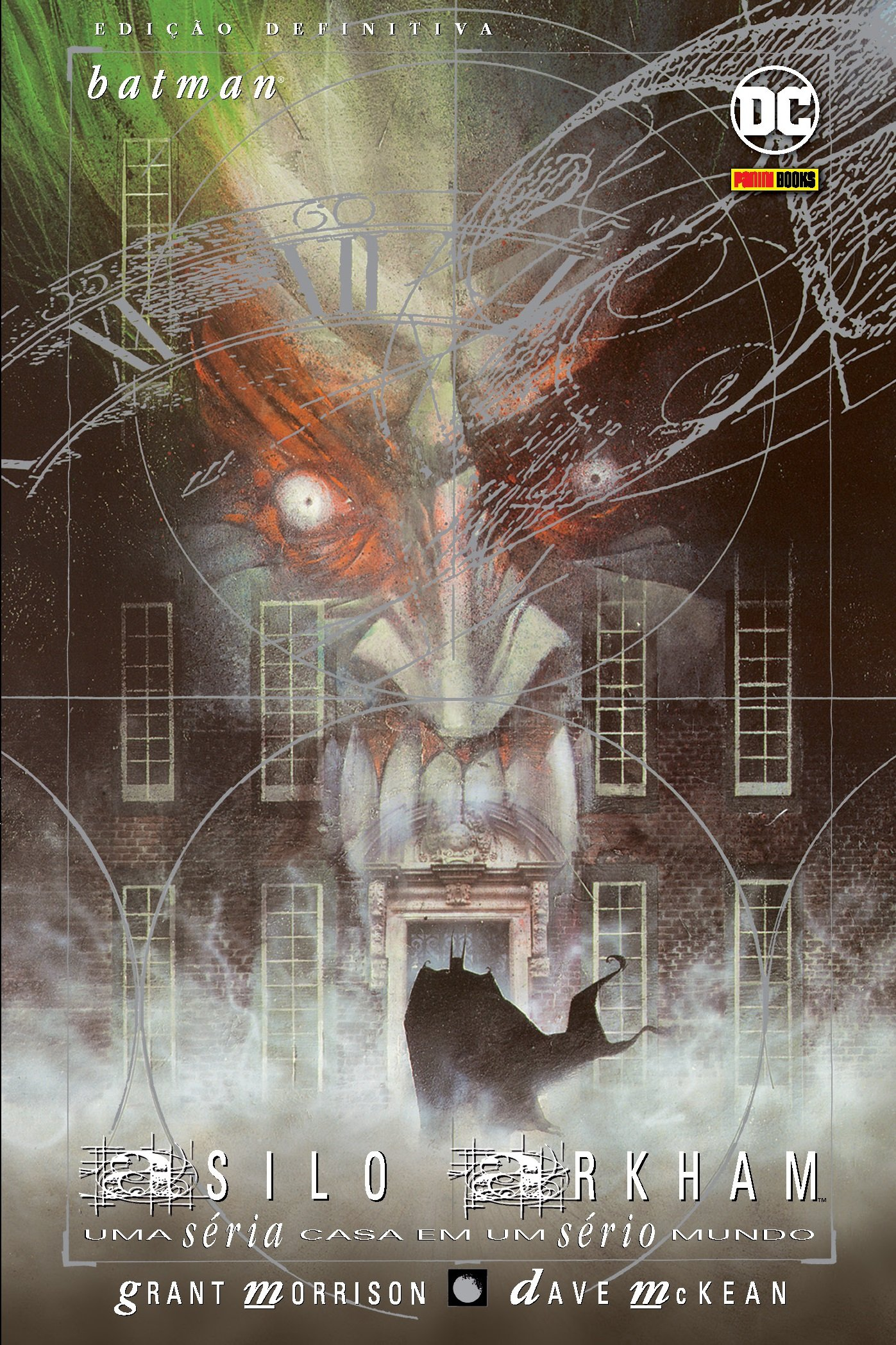 "Relendo ""Asilo Arkham"" de Grant Morrison e Dave McKean | Críticas | Revista Ambrosia"
