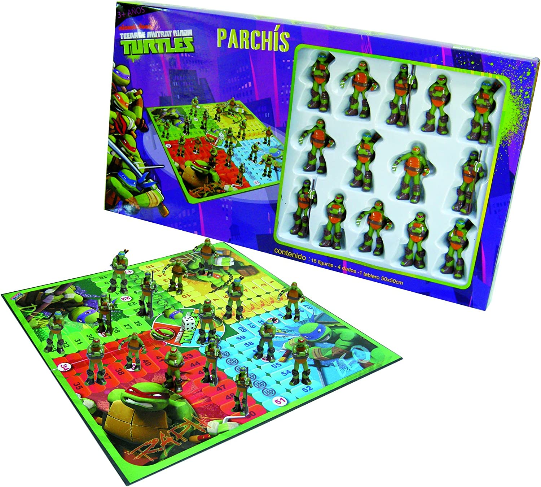 Tortugas Ninja - Parchís (United Labels 810441): Amazon.es ...