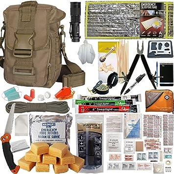 Amazon.com: Preppers Favorite Get Home Bolsa con kit de ...