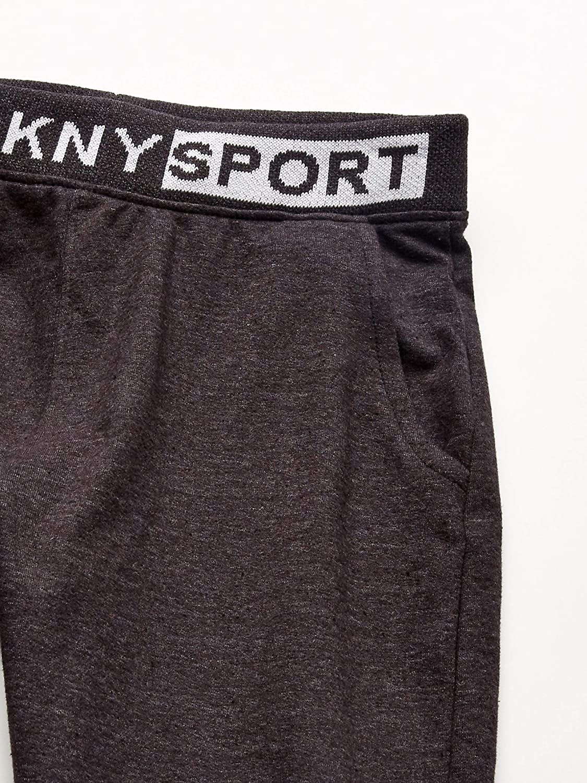 DKNY Boys Big Marled French Terry Jogger
