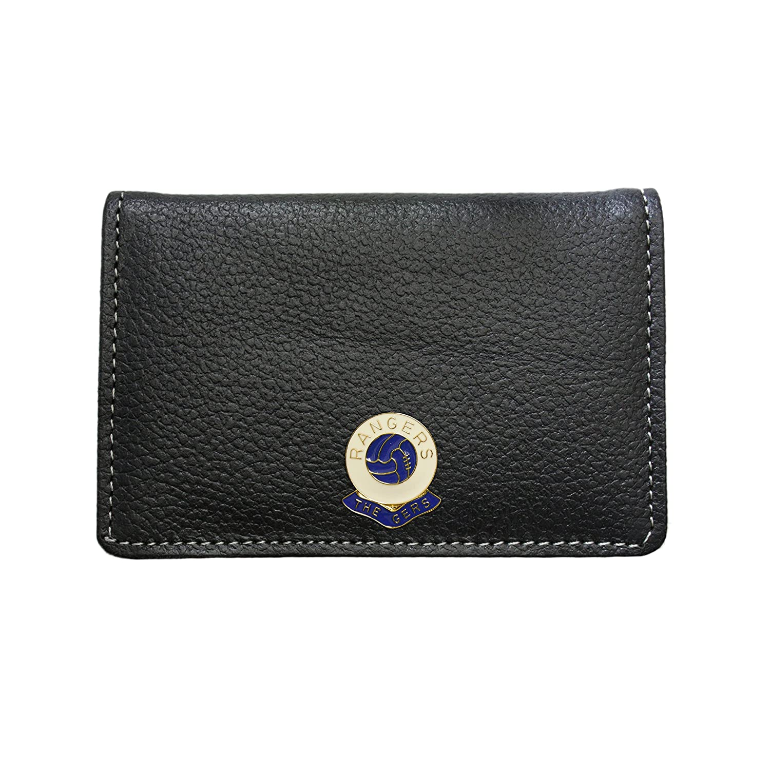 Glasgow Rangers football club leather card holder wallet