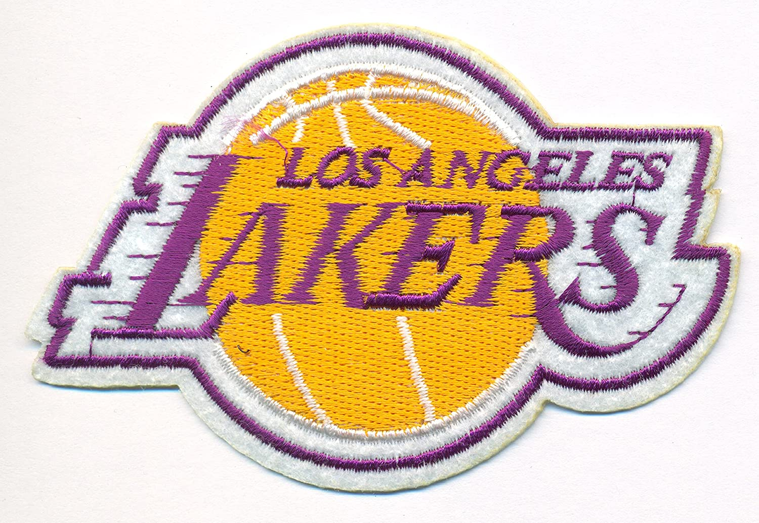 Los angeles lakers logo basketball nba embroidered iron on patches los angeles lakers logo basketball nba embroidered iron on patches hat jersey 4 x 2 voltagebd Image collections