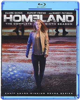 c5a6b453989 Amazon.com: Homeland: Season 6 [Blu-ray]: Claire Danes, Mandy ...