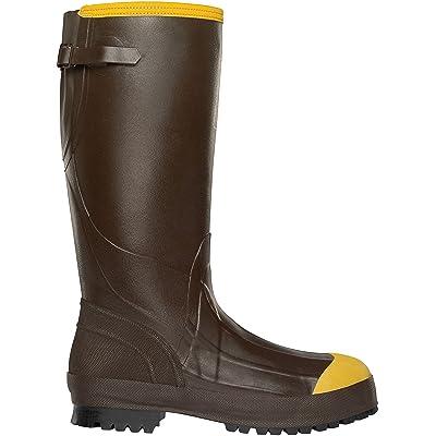 LaCrosse Men's Alpha Aggressive 3.5 MM Steel Toe Work Boot   Industrial & Construction Boots