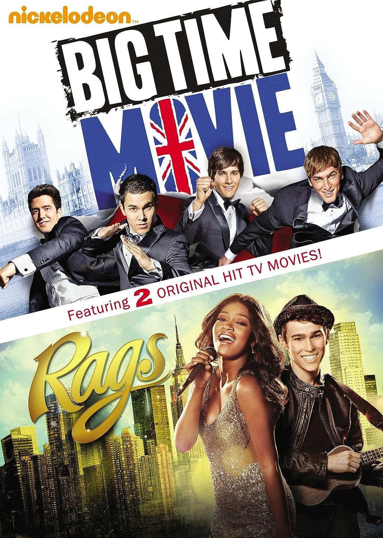 Amazoncom Big Time Movie Rags Nickelodeon Double