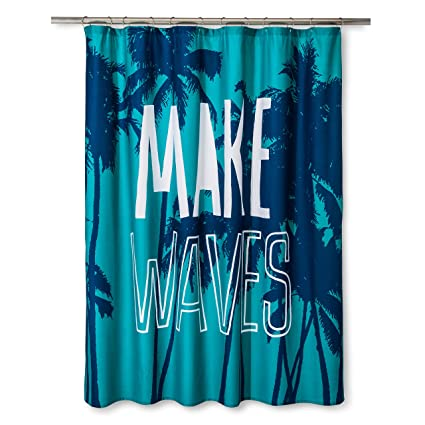 Pillowfort Make Waves Twill Shower Curtain 72quotx 72quot