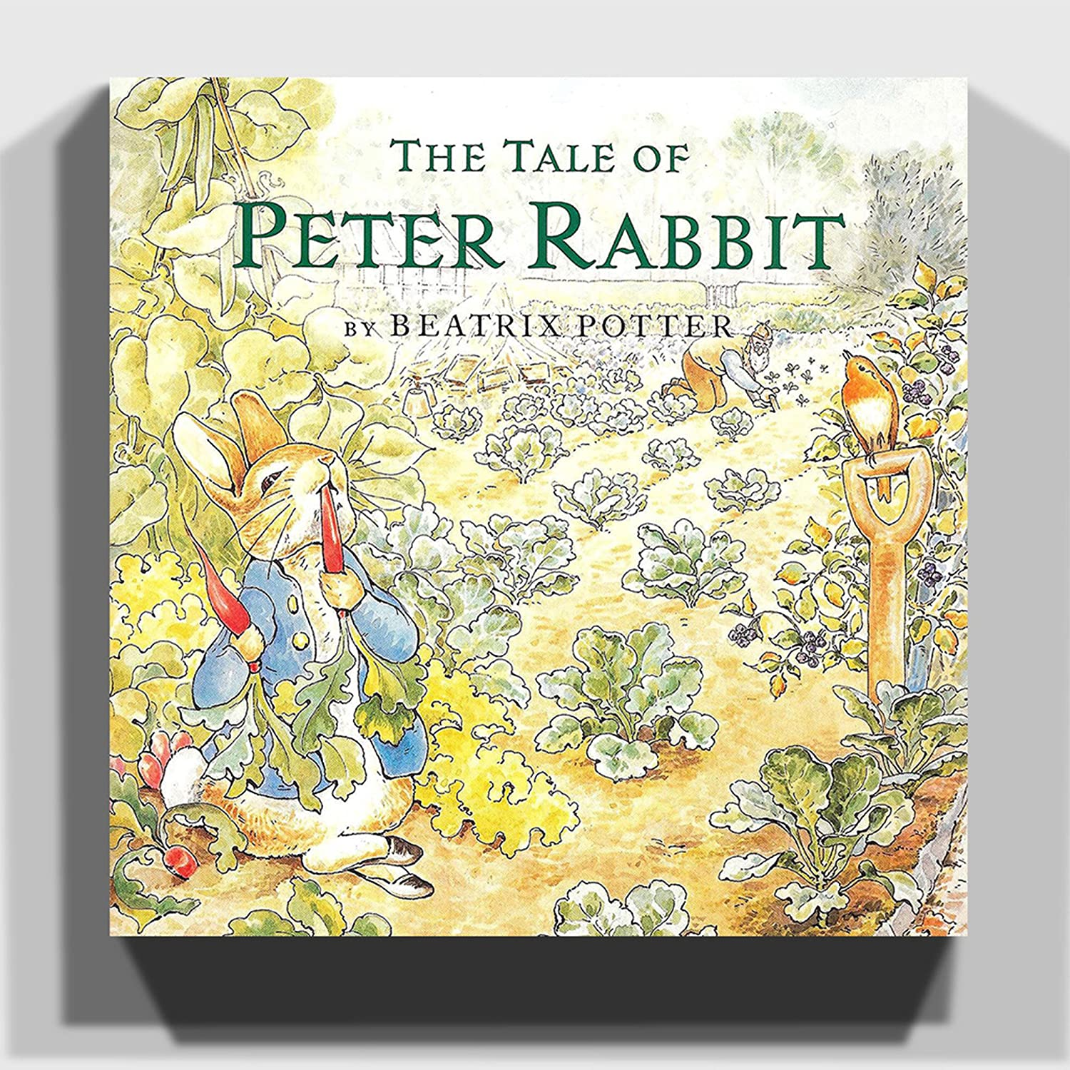 Big Box Art Canvas Print 14 x 14 Inch (35 x 35 cm) Beatrix Potter ...