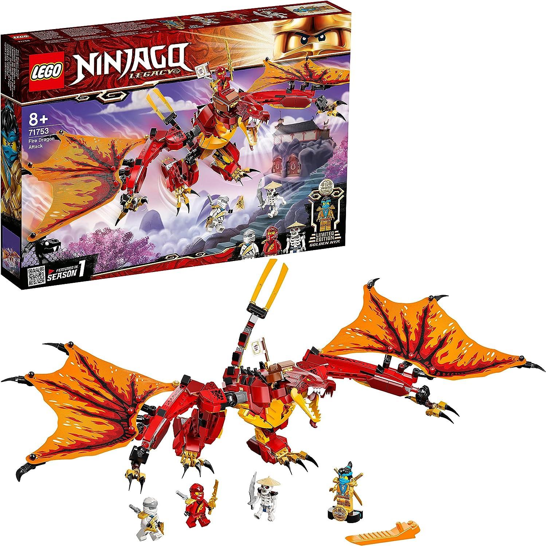 レゴ(LEGO) ニンジャゴー カイのファイヤードラゴンアタック 71753