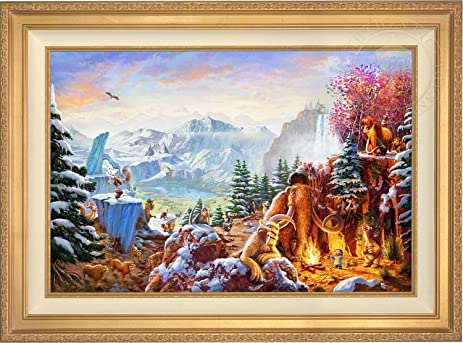 Amazon Ice Age Thomas Kinkade 24 X 36 Gallery Proof Gp