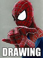 Time Lapse Drawing: The Amazing Spider-Man