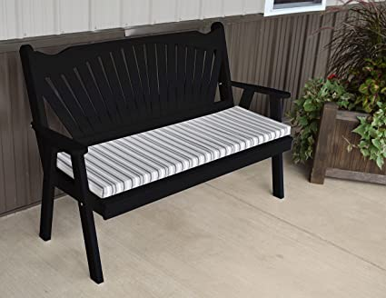Marvelous Amazon Com Best Garden Bench 5 Fanback Porch Benches For Short Links Chair Design For Home Short Linksinfo