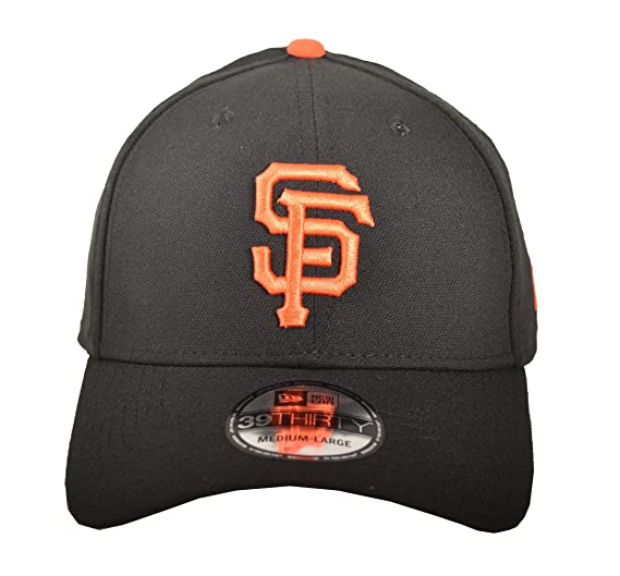 sports shoes 8a9b6 196a4 MLB San Francisco Giants Team Classic Game 39Thirty Stretch Fit Cap, Black,  Small