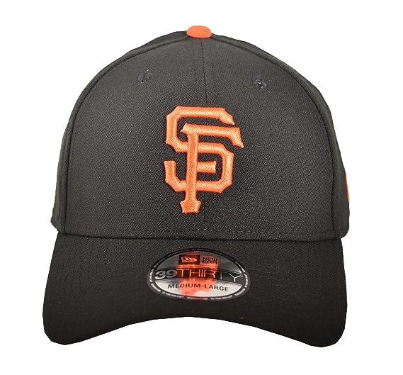 sports shoes 13174 b9c8b MLB San Francisco Giants Team Classic Game 39Thirty Stretch Fit Cap, Black,  Small