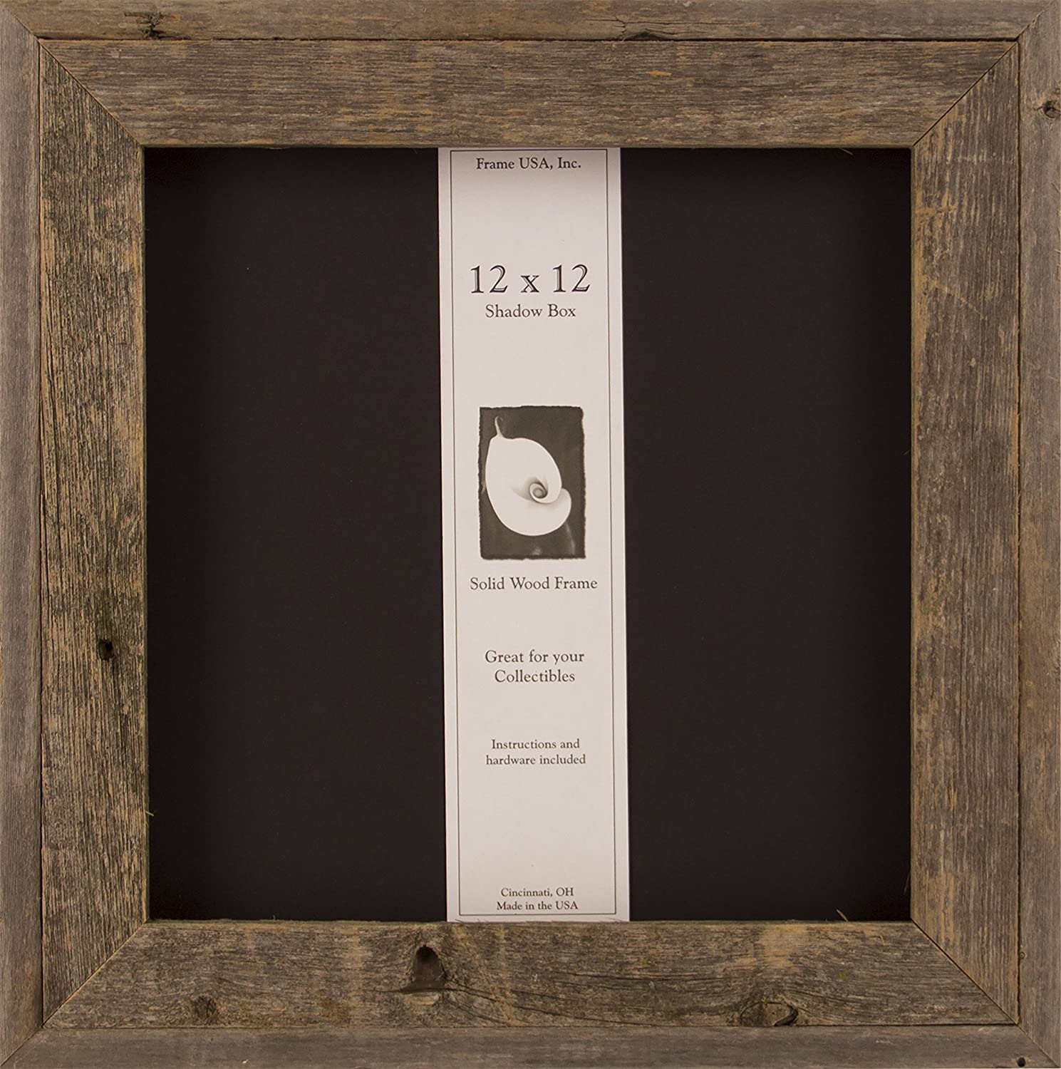 Amazon.com - 12x12 Barnwood Shadow Box -