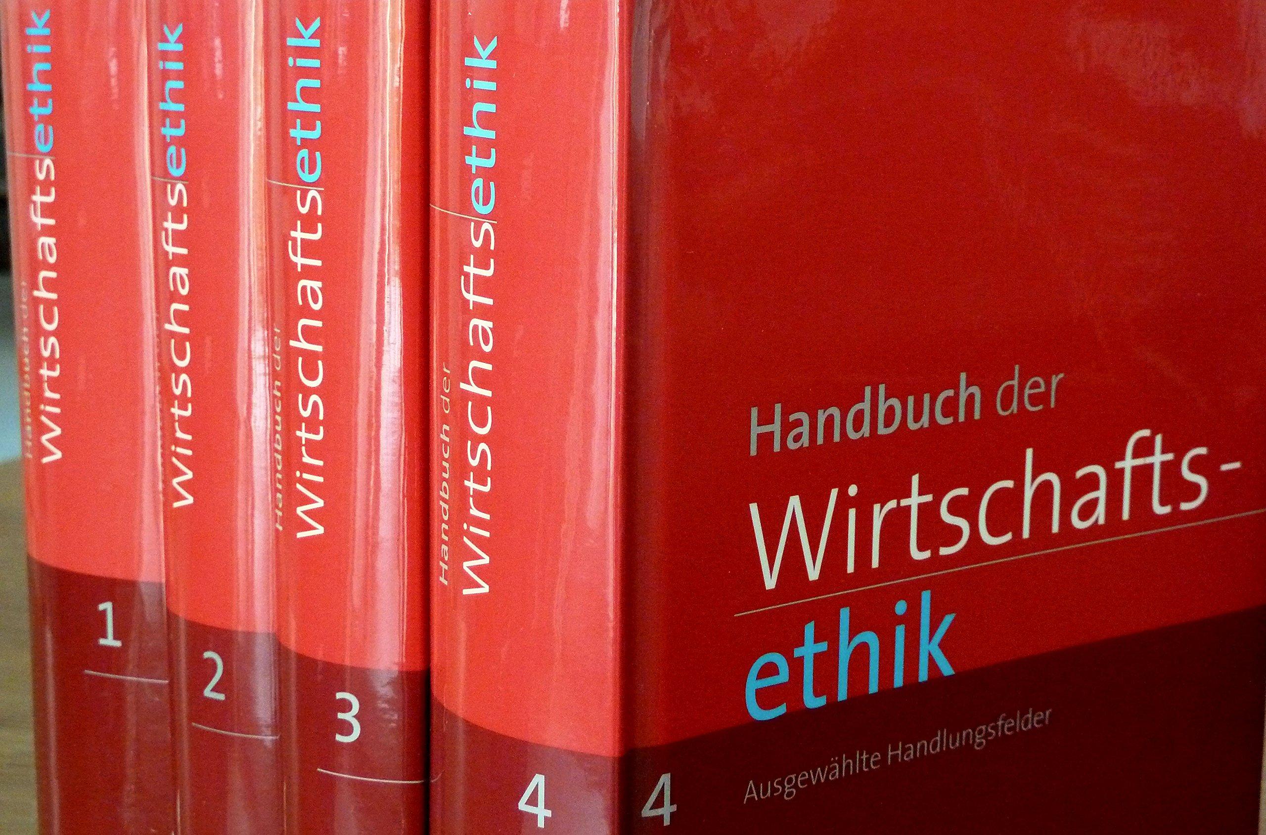 Handbuch der Wirtschaftsethik
