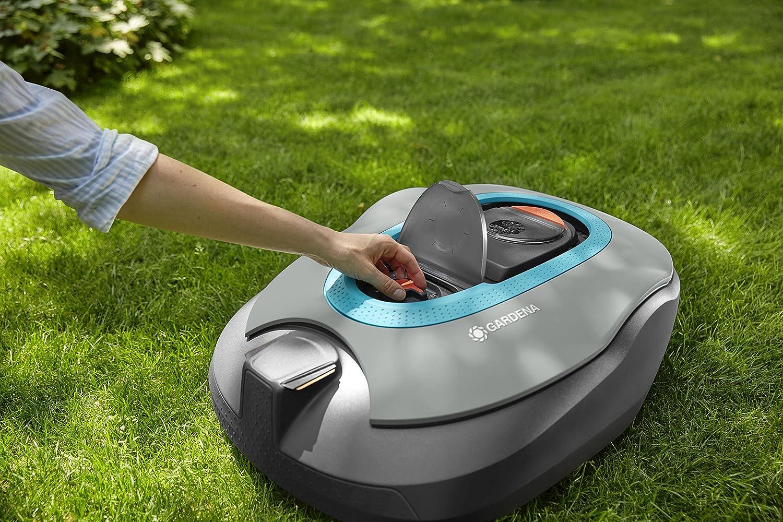 Gardena 15101/ Negro Antracita /20/Robot cortac/ésped Sileno Life 750/M/² Turquesa Naranja