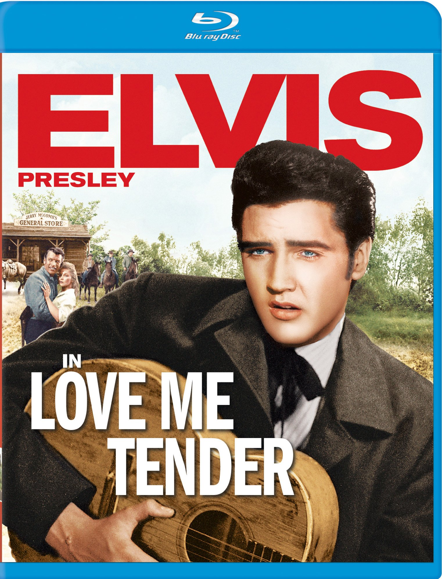 Blu-ray : Love Me Tender (Digital Theater System, AC-3, Dubbed, , Widescreen)