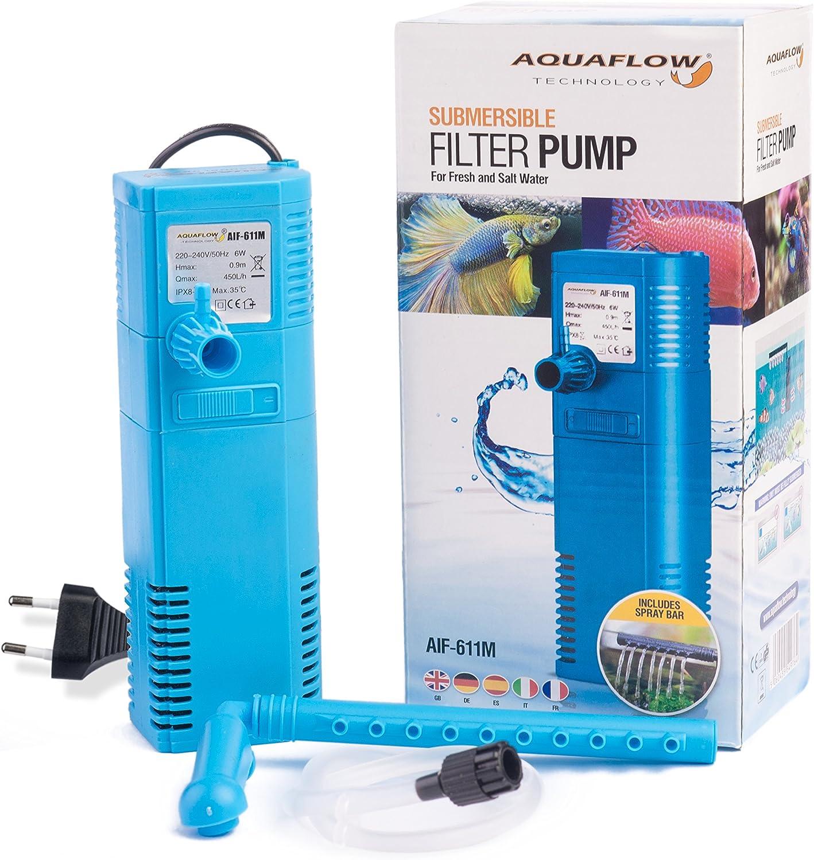 Aquaflow Technology® AIF-611M - Bomba de filtro para acuario ...