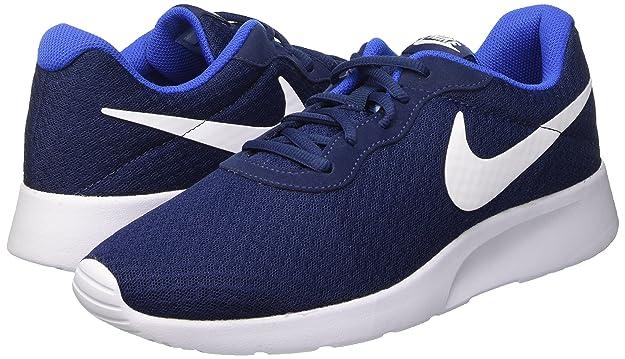 Amazon.com | Nike Mens Tanjun Running Sneaker (11 M US, Midnight Navy/White Game Royal) | Fashion Sneakers