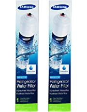 Samsung HAFEX/EXP 2 x Filtri Acqua Aqua Pure Plus Ricambi Esterni per Frigorifero, Bianco