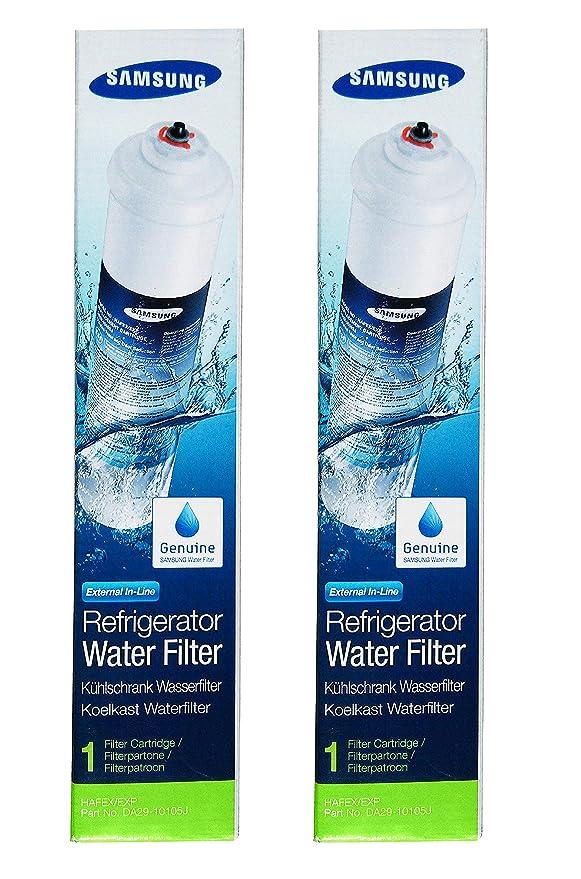 2 x Cartuchos de Filtro DA29-10105J Externo de Hielo & Agua de ...